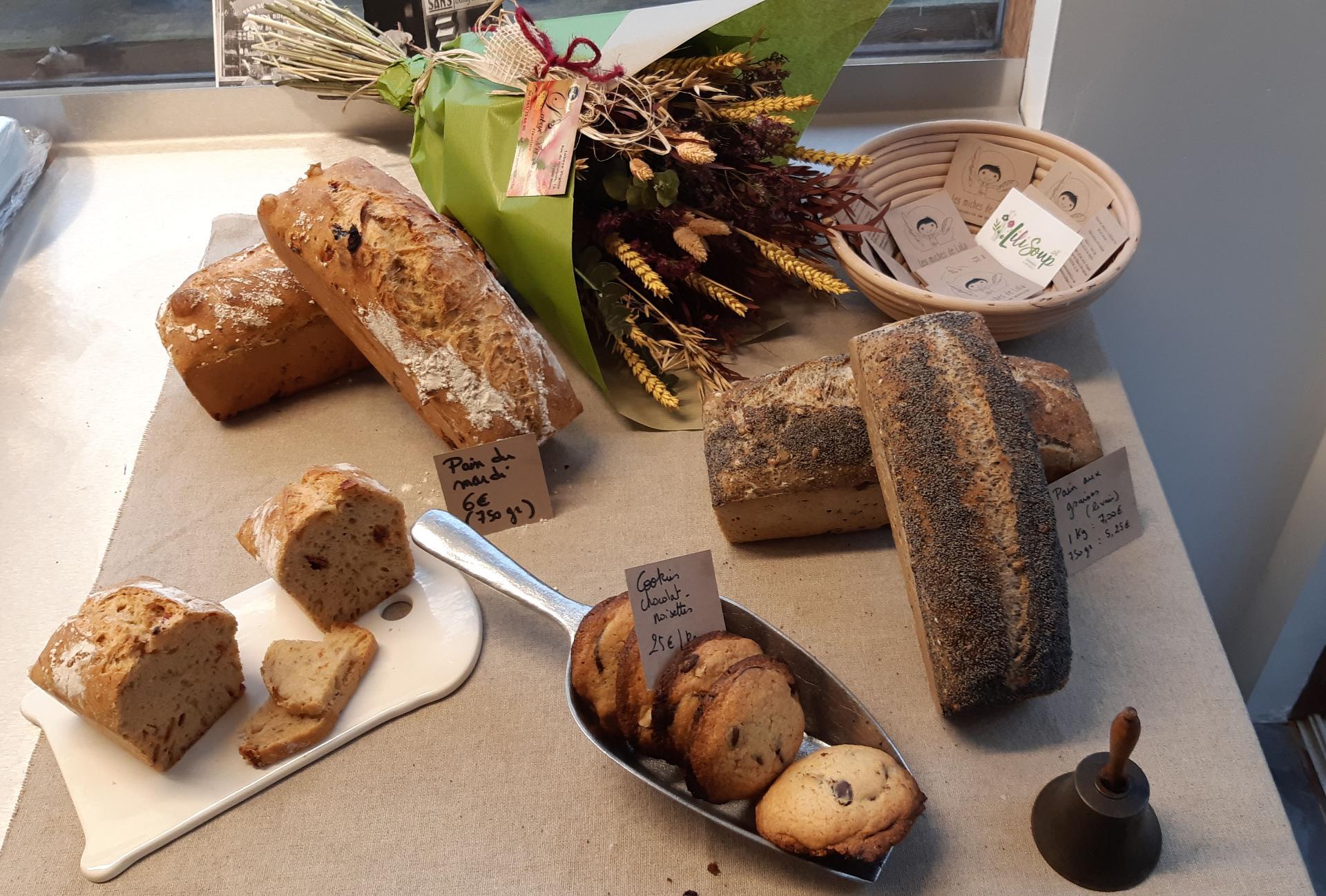assortiments de pains